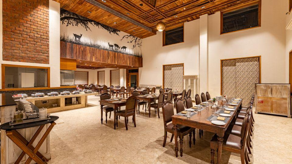 The Baagh Ananta Elite, Resorts in Ranthambore National Park, Restaurants in Ranthambore 10