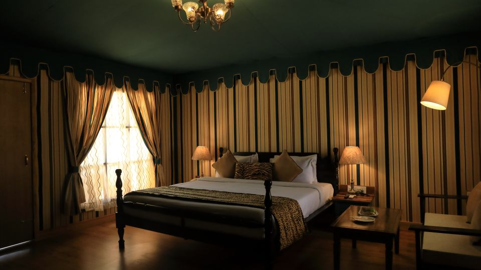 ranthambore stay, rooms