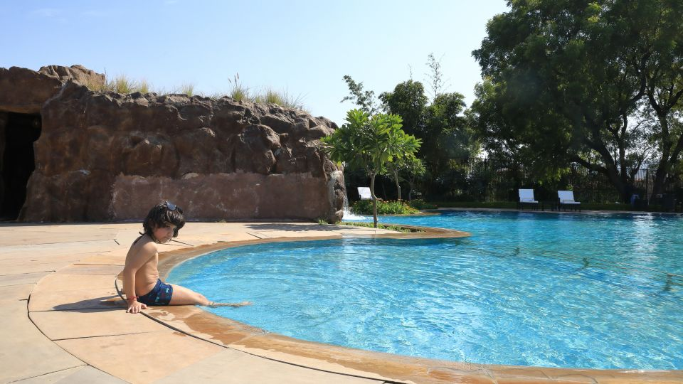 swimming pool, The Baagh Ananta Elite, Resorts in Ranthambore