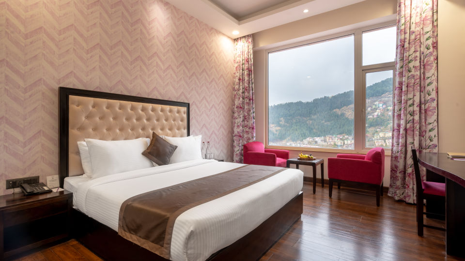 Premier Valley View Room at our Luxury  hotel in Shimla