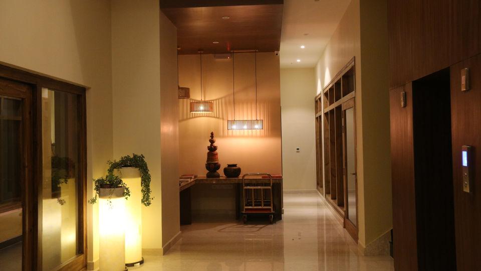 lobby corner