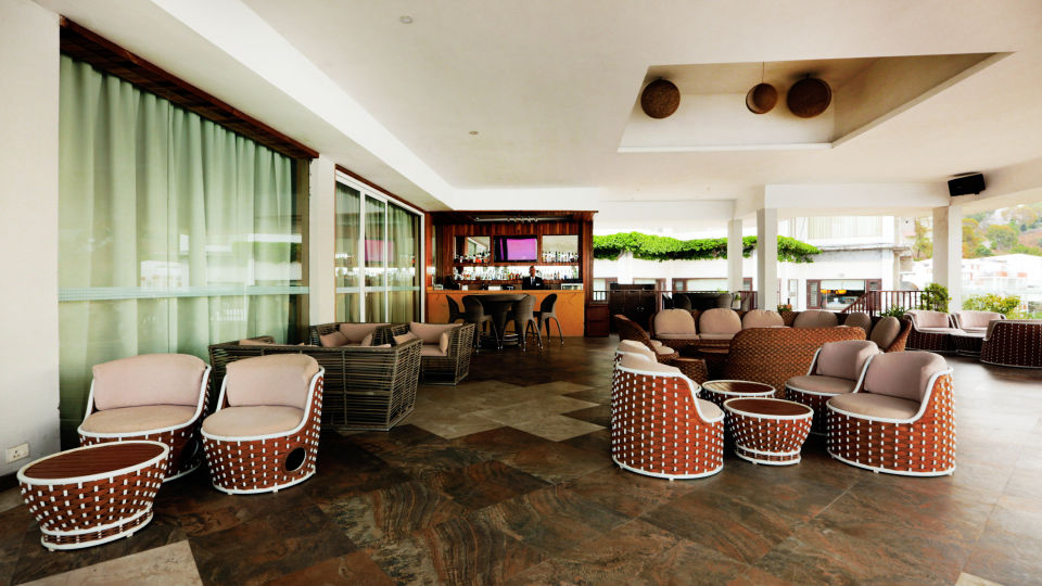 Terrace Open Air Bar at Timber Trail Heights and Terraces Resort Parwanoo 3