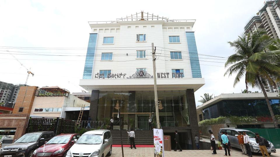 West Fort Hotel, Rajajinagar, Bangalore Bangalore Facade West Fort Hotel Rajajinagar Bangalore