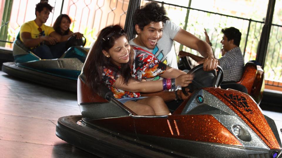 Dry Rides - Crazy Car at  Wonderla Amusement Park Bangalore