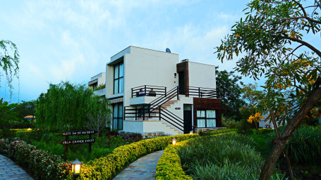 facade, The Golden Tusk Ramnagar, Ramnagar resort 2