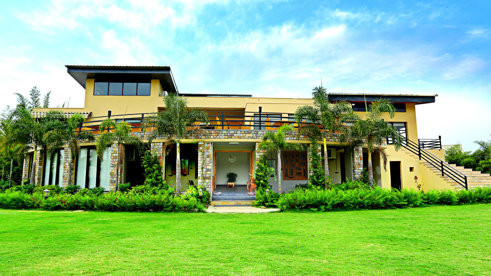 facade, The Golden Tusk Ramnagar, Ramnagar resort 10