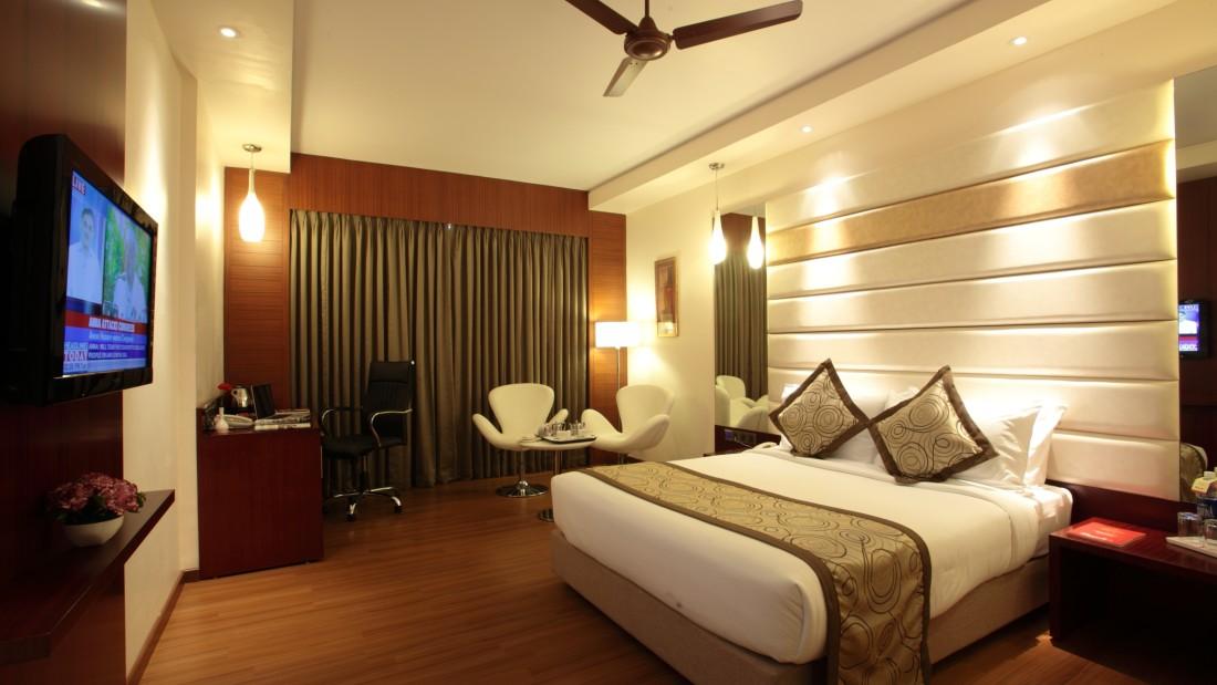 Superior Room at Hotel Daspalla Hyderabad