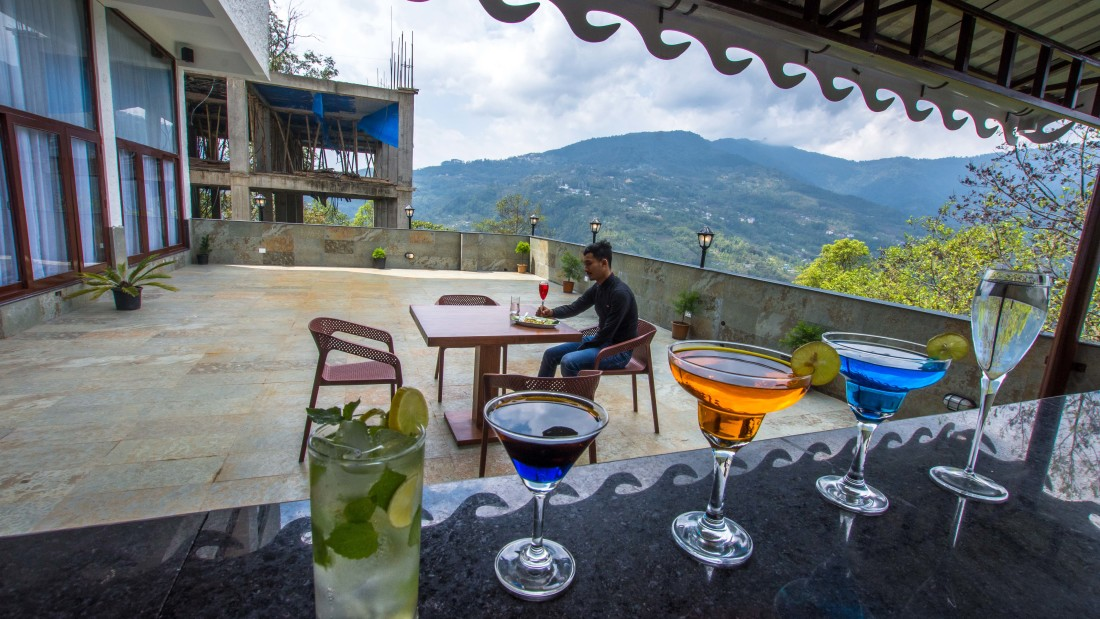 Bar at Mount Himalayan Hotel and spa 5