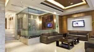 lobby-Interior-Hotel Saket 27 New Delhi-Best Delhi Hotels 6