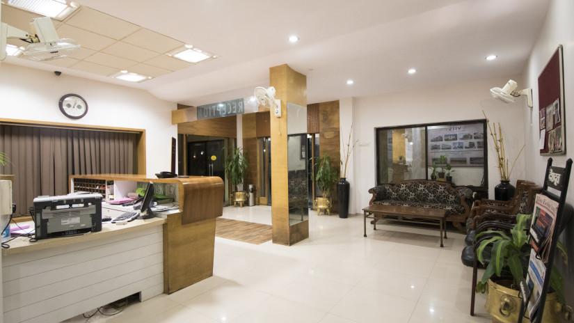 Lobby of Kamfotel Hotel Nashik