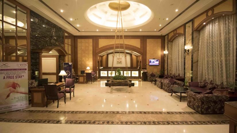Lobby VITS Hotel, Mumbai