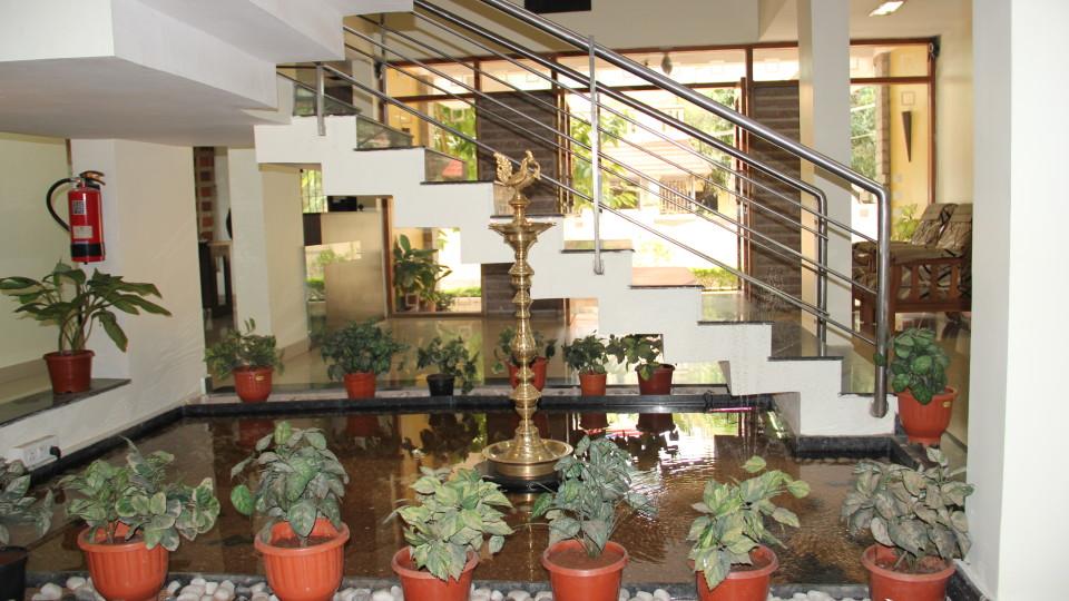 Hotel Arama Suites Bangalore lobby with  entrance hotel arama suites bangalore