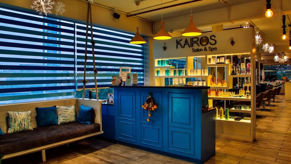 Kairos Saloon Spa at Hotel Daspalla Hyderabad Hotel in Hitech City 3