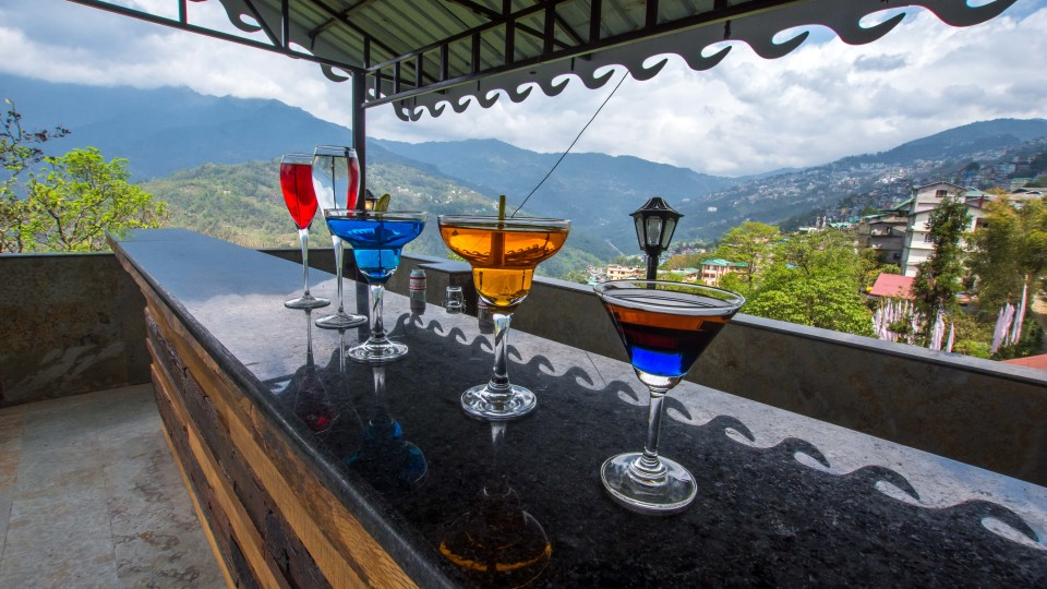 Bar at Mount Himalayan Hotel and spa 4