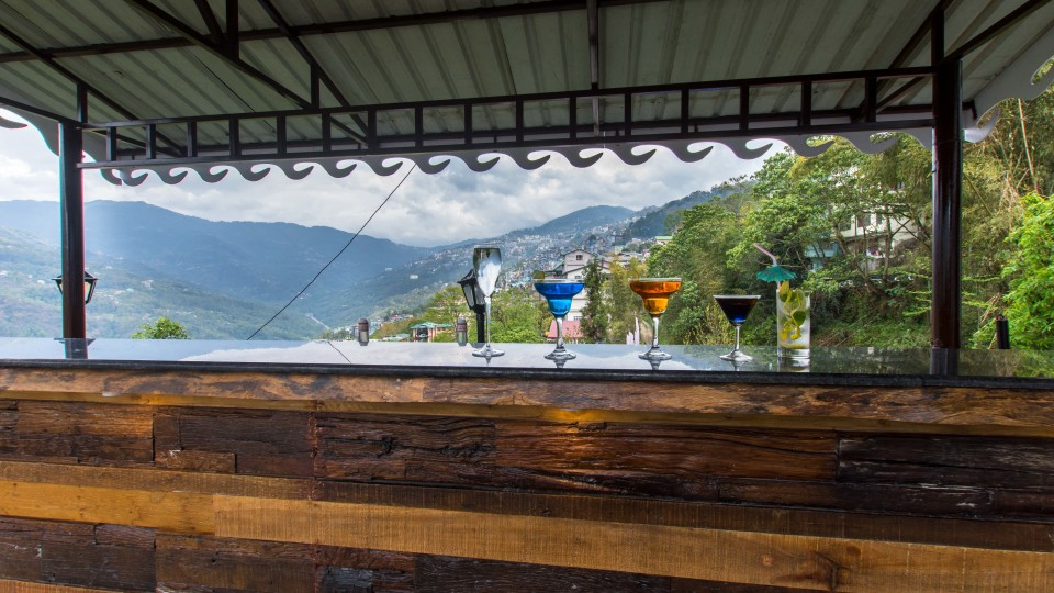 Bar at Mount Himalayan Hotel and spa 6