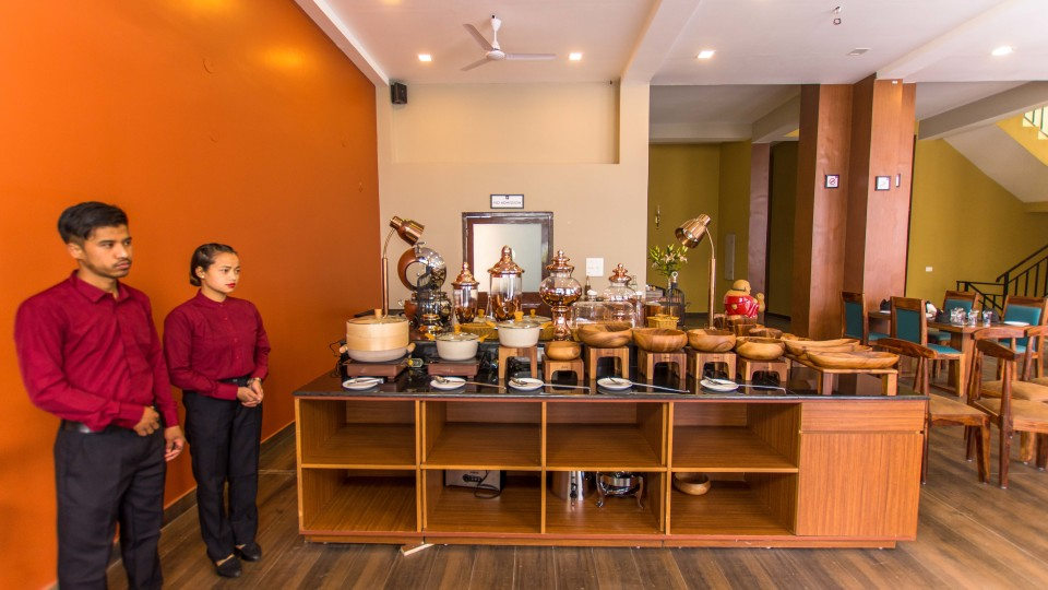 restaurant at Mount Himalayan Hotel and Spa 7