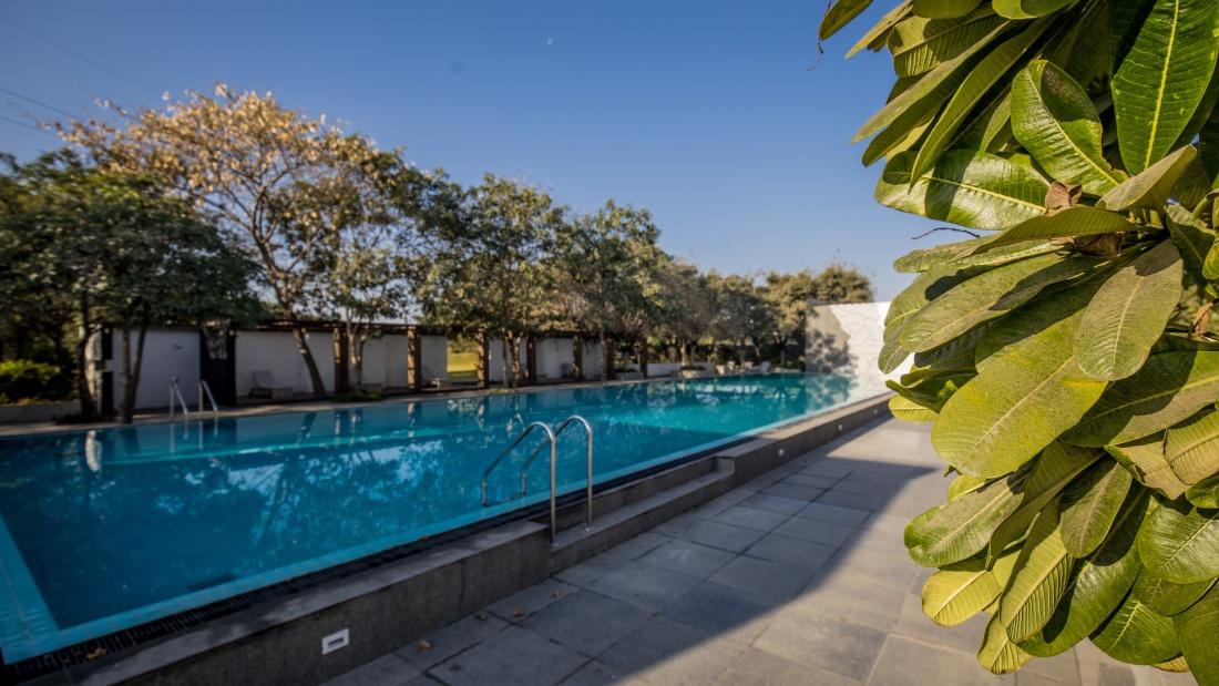 Karma Lakelands Swimming Pool in Gurgaon Resorts with Swimming Pool in Gurgaon Pool Villas in Gurgaon 11