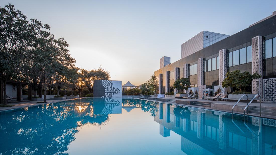Karma Lakelands Swimming Pool in Gurgaon Resorts with Swimming Pool in Gurgaon Pool Villas in Gurgaon 25