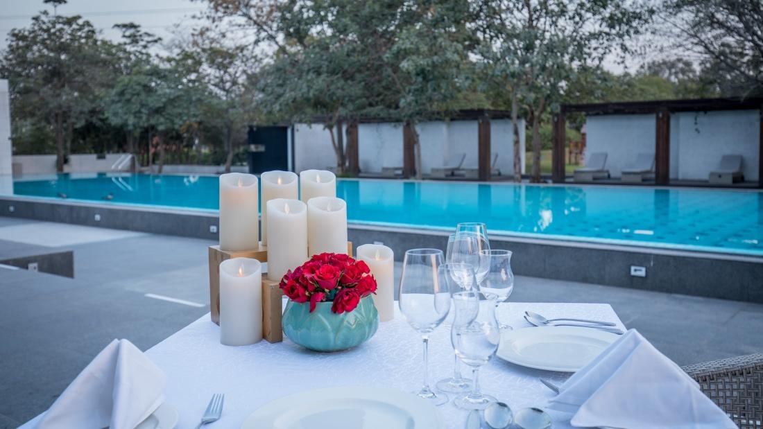 Karma Lakelands Swimming Pool in Gurgaon Resorts with Swimming Pool in Gurgaon Pool Villas in Gurgaon 32