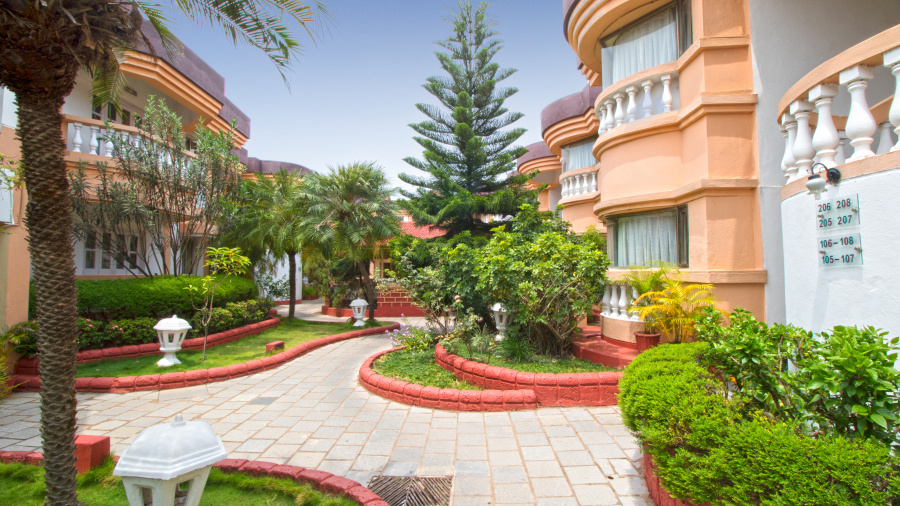 Facade, Lotus Eco Beach Resort Benaulim Goa Benaulim Goa, Benaulim Beach Resort