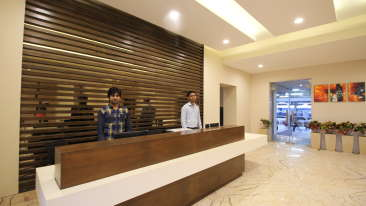 Le ROI Hotels & Resorts  Reception 1 of Le ROI Raipur Hotel