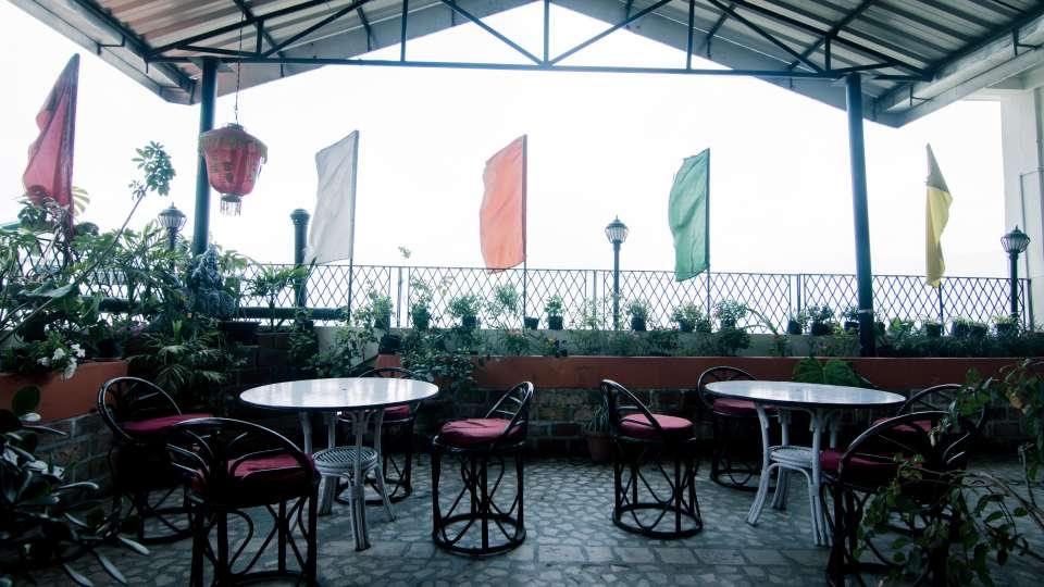 Central Hotel, Gangtok Gangtok Rooftop Garden lounge Central Hotel Gangtok Sikkim 2