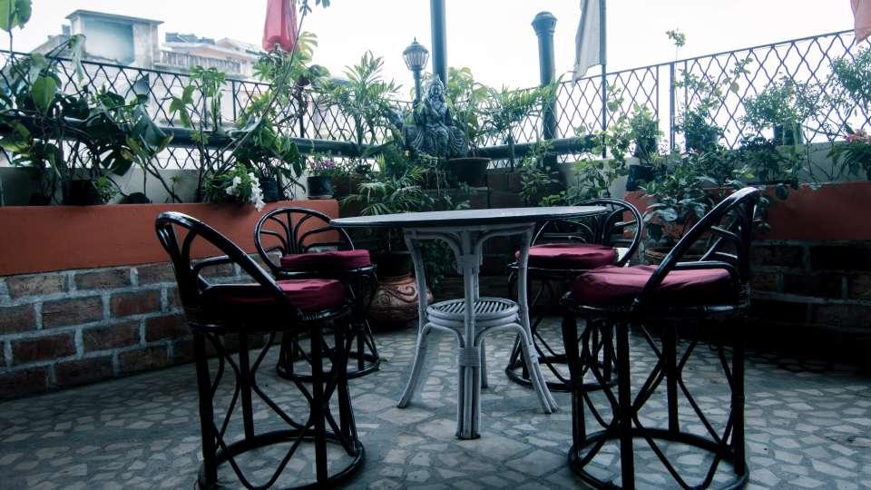 Central Hotel, Gangtok Gangtok Rooftop Garden lounge Central Hotel Gangtok Sikkim 3