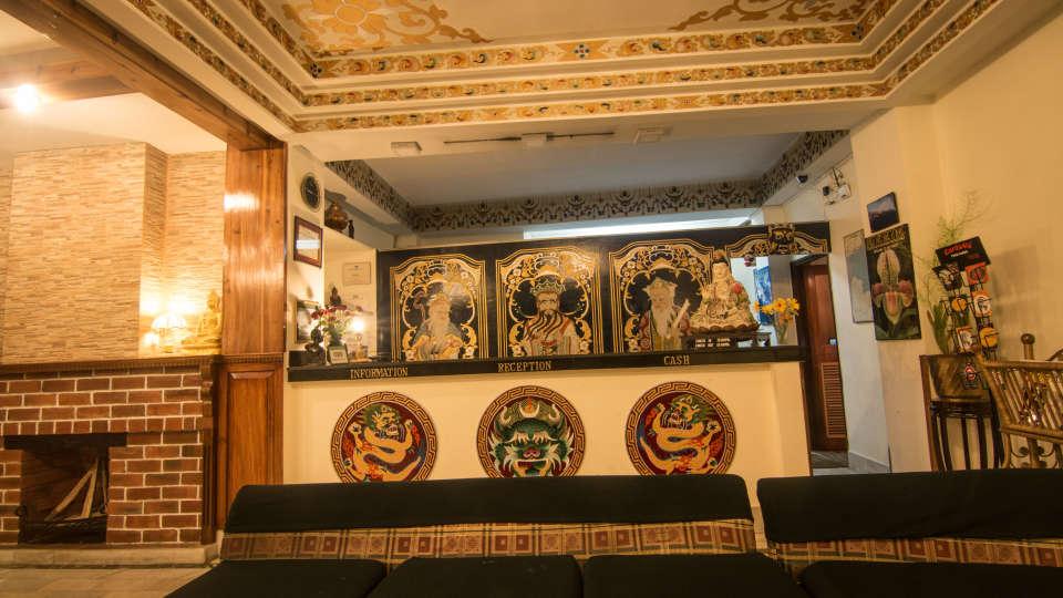 Central Hotel, Gangtok Gangtok lobby central hotels gangtok 1