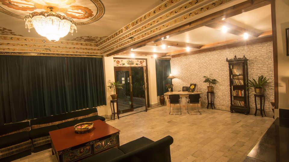 Central Hotel, Gangtok Gangtok lobby central hotels gangtok 2