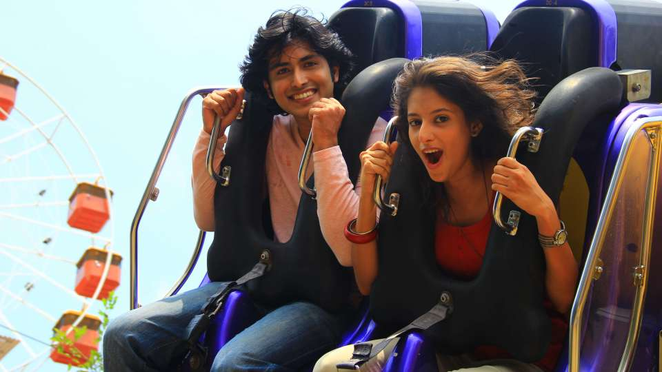 Thriller Rides - Twin Flip Monster at Wonderla Kochi Amusement Park