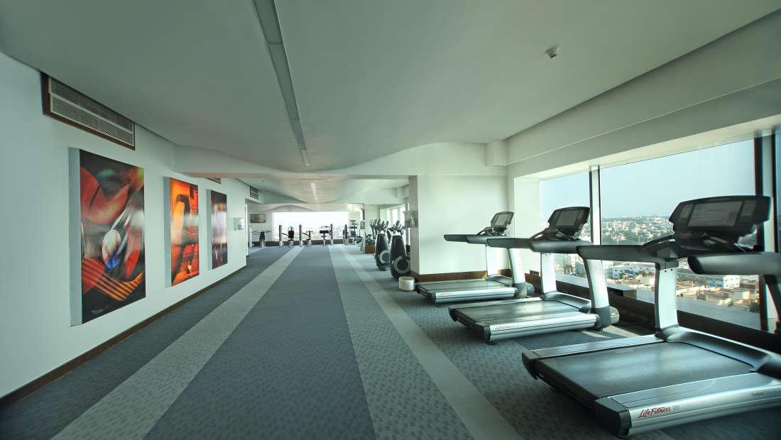 Gym2 Hotel Gokulam Grand Bangalore