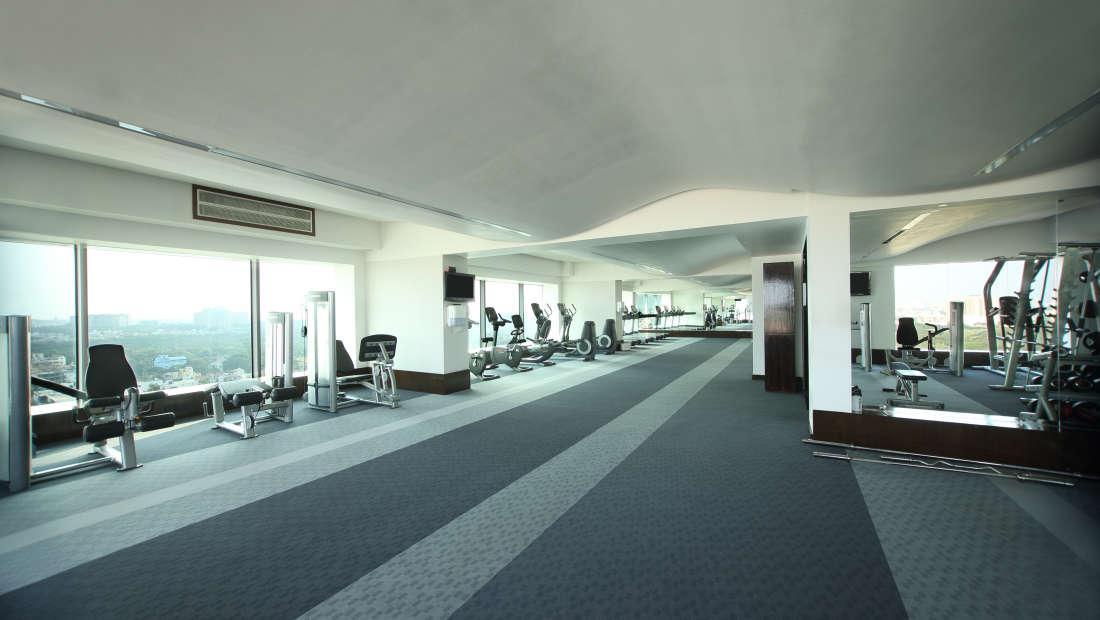 Gym Hotel Gokulam Grand Bangalore