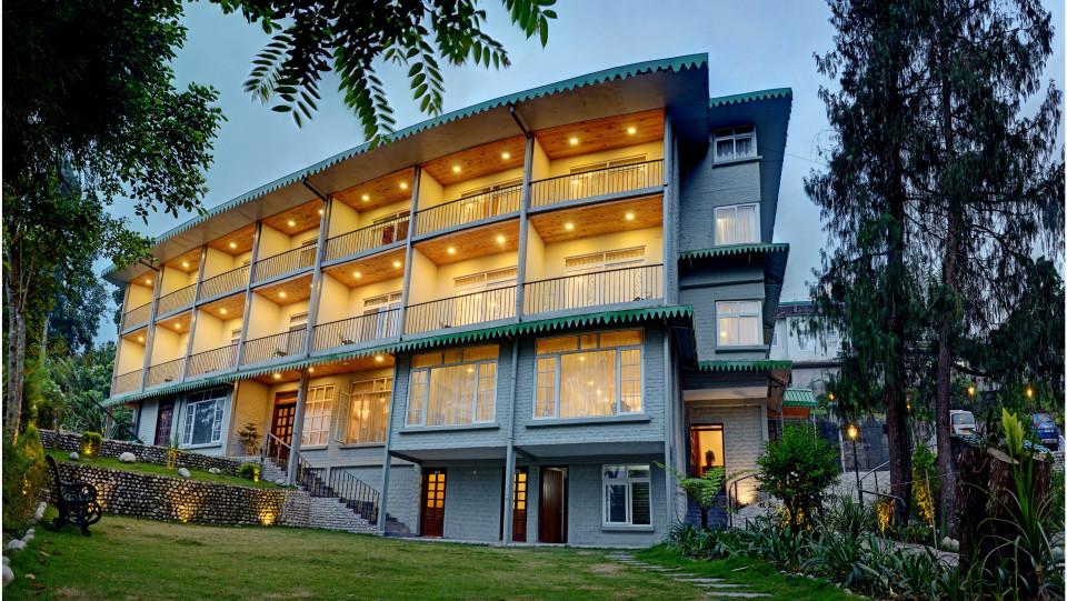 Facade Summit Barsana Resort Spa Kalimpong 1