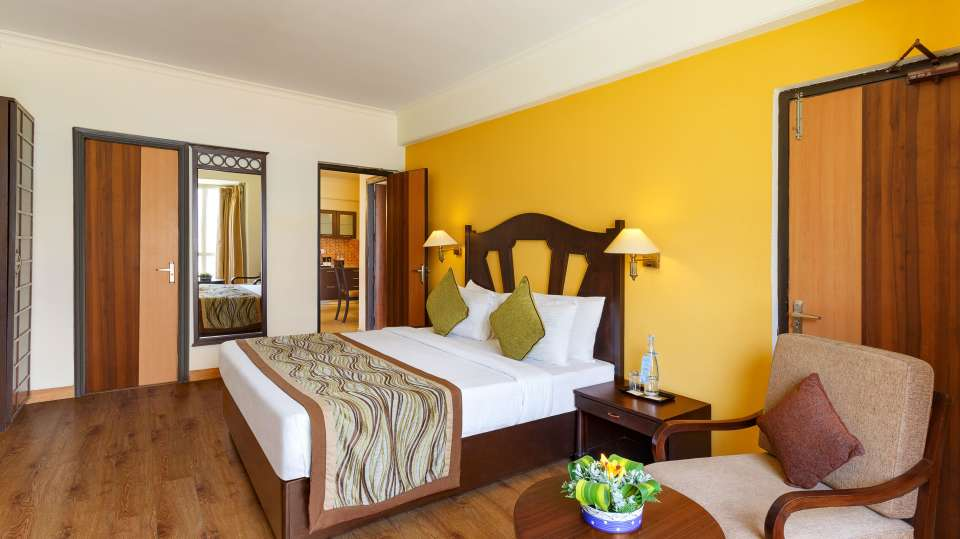 Two Bedroom Standard Apartment GardenHill Facing -Aloha on the Ganges Rishikesh 3