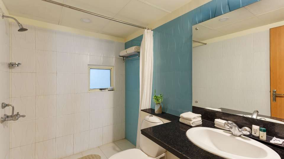 Two Bedroom Standard Apartment GardenHill Facing -Aloha on the Ganges Rishikesh 4