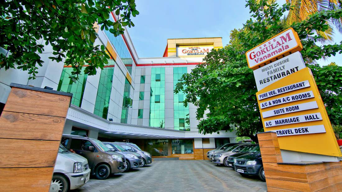 Entrance at Hotel Sree Gokulam Vanamala,Hotel in Kerala 1