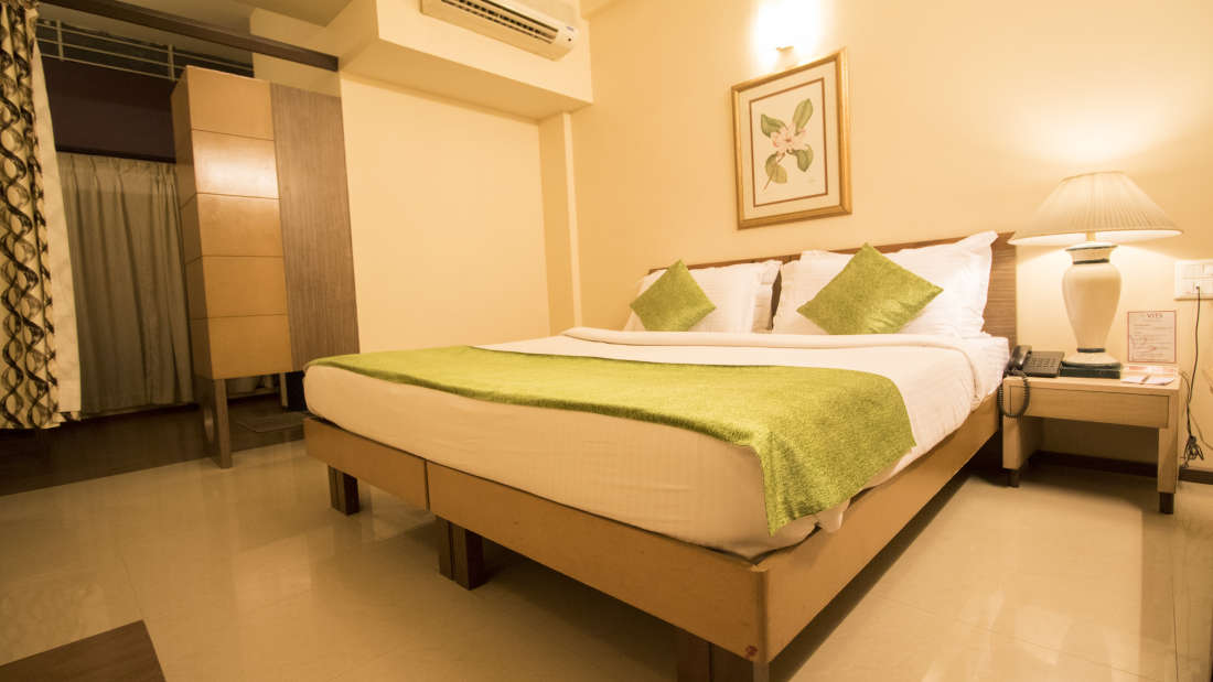 Deluxe Room at Kamfotel Hotel Nashik