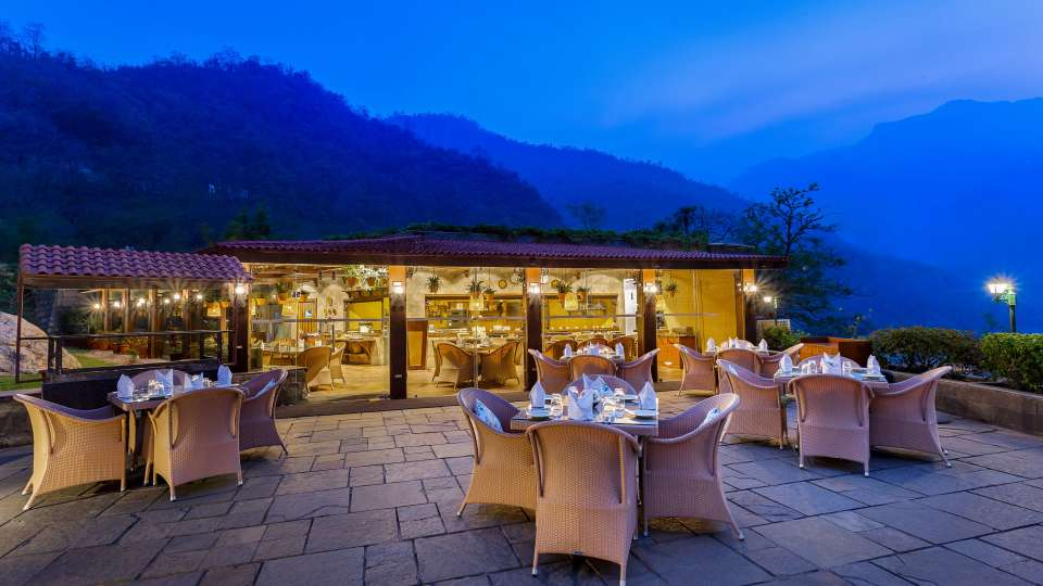 Restaurant- Aloha on the Ganges Rishikesh 1