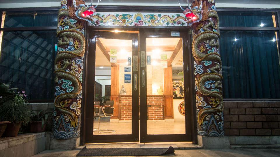 Central Hotel, Gangtok Gangtok facade central hotels gangtok 2