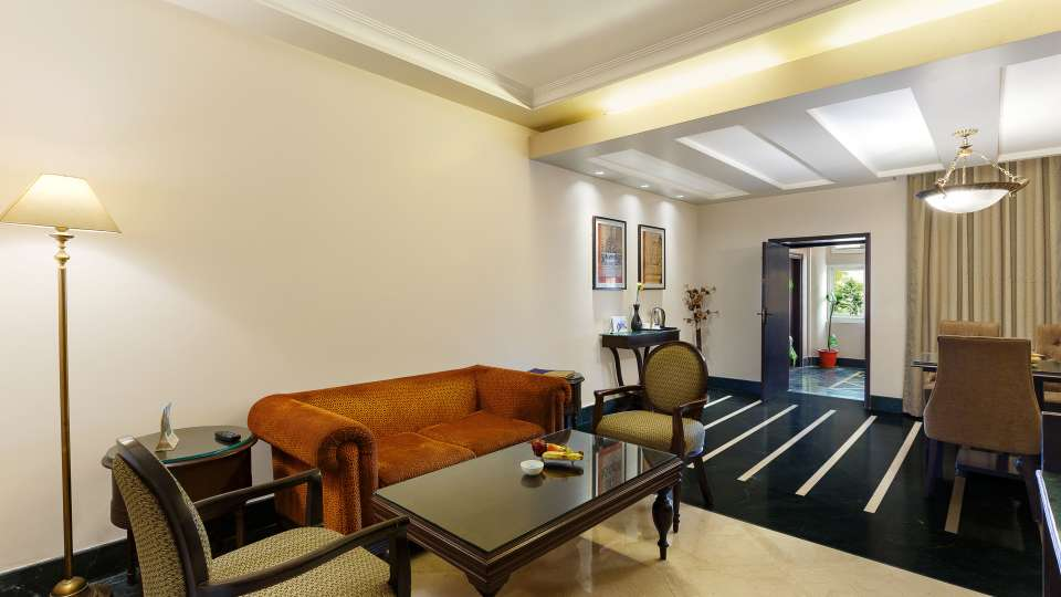 Suite Living Area- Ganga Lahari Haridwar
