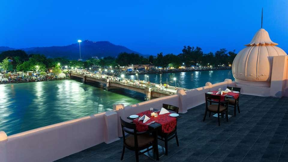 Terrace-Ganga Lahari Haridwar