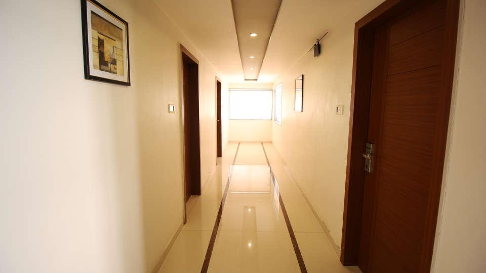 Corridor Hotel Jyoti - Rajkot Gujrat 3