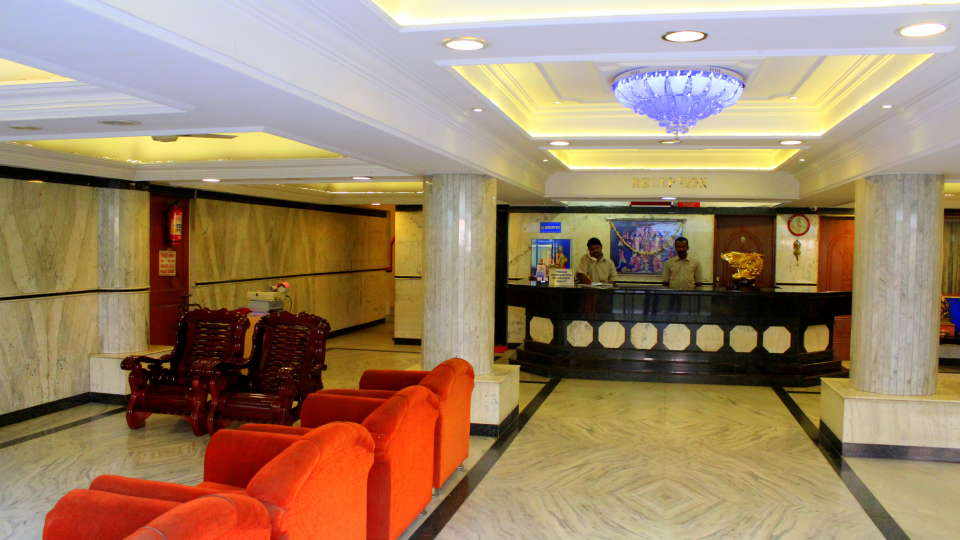Hotel Yasodha Towers Hosur Lobby and Reception at Hotel Yasodha Towers Hosur