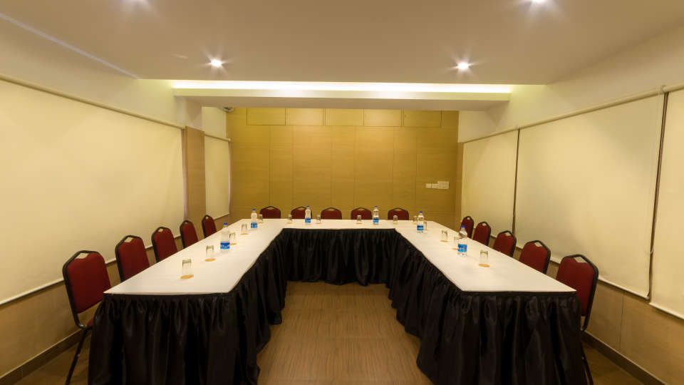 U Shape Style Seating at Hotel Sandhya Residency Bangalore