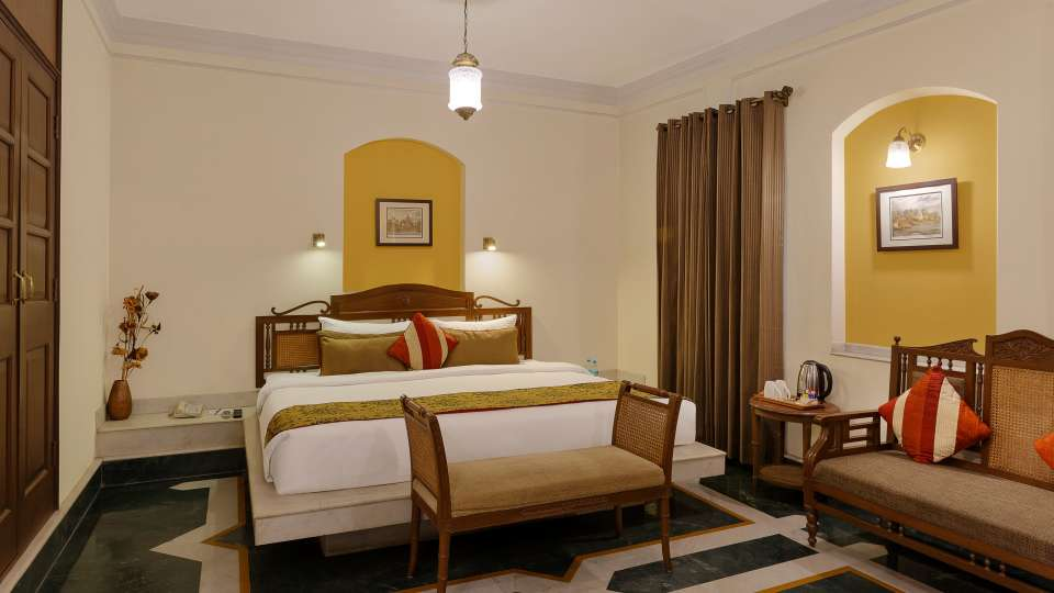 Superior Rooms-The Haveli Hari Ganga Haridwar 1