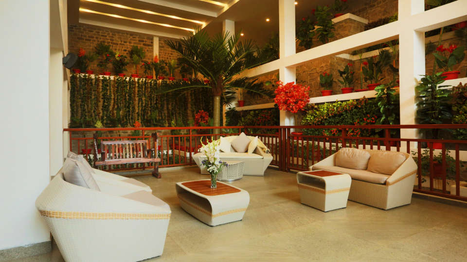 lounge area The Terrace Resort Parwanoo