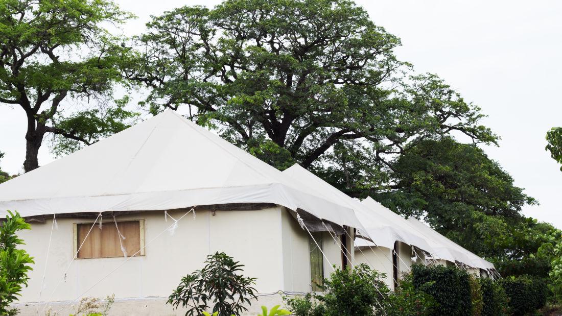 Royal Tent of  Fort Jadhavgadh Heritage Resort Hotel Pune