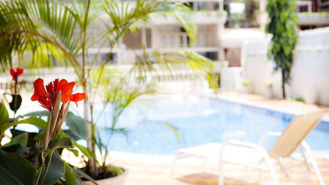 Quality Inn Ocean Palms Goa Swimming Pool of Quality Inn Ocean Palms Goa