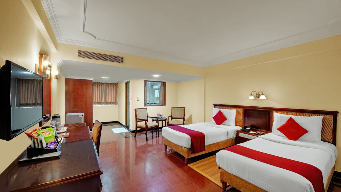 Deluxe Room at Hotel SRM Chennai