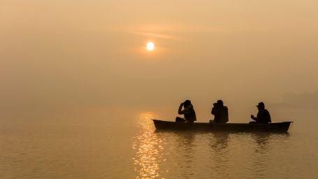 Canoeing at Reni Pani Jungle Lodge-Madhya Pradesh hotel